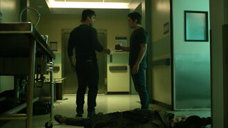 Cody-Christian-Dylan-Sprayberry-Theo-Liam-fist-bump-Teen-Wolf-Season-6-Episode-9-Memory-Found