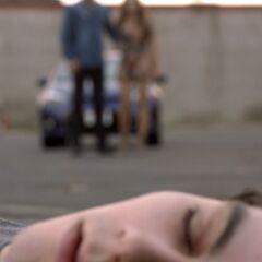 Aiden et Lydia trouvant Stiles