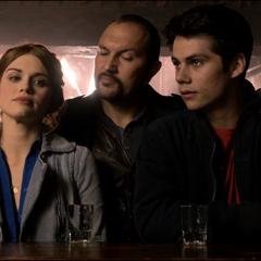 Serevo vient chercher Lydia et Stiles.