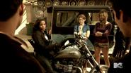 Teen Wolf Season 4 Episode 401 The Dark Moon Braeden is their guide