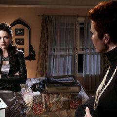 Allison fait ses valises avec sa mère