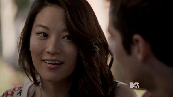 Teen Wolf Season 3 Episode 13 Anchors Arden Cho as Kira
