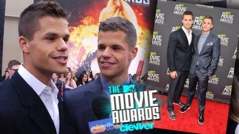 Charlie & Max Carver Interview - 2013 MTV Movie Awards-0