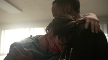 Dylan-Sprayberry-Khylin-Rhambo-Mason-holding-Liam-Teen-Wolf-Season-6-Episode-14-Face-to-Faceless