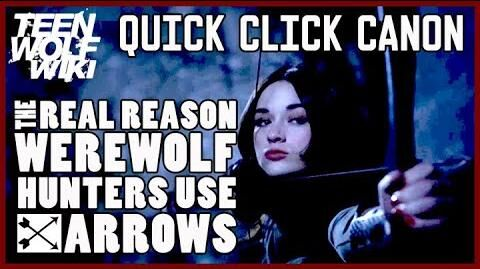 Teen Wolf Mystery Why Teen Wolf Hunters Use Arrows