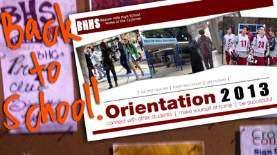 Orientation Cover