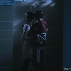 Scott & Allison First Kiss