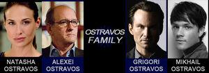 Ostravos Family spread