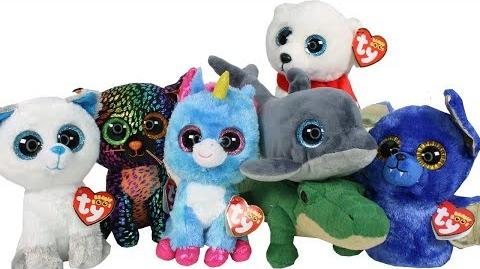 8d2afaa7be6 Video - Exclusive Beanie Boos Haul Unboxing Toy Review TY Beanie Boo ...