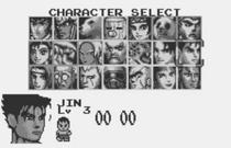 Tekken Card Challenge Original Character Select
