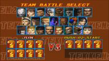 Tekken 2 Team Battle Modus