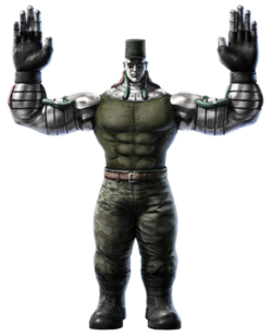 Tekken Tag Tournament 2 Prototype Jack