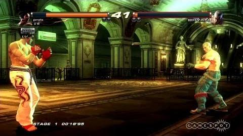 Tekken Revolution - E3 2013 Stage Demo