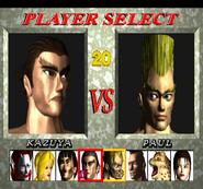 Tekken 1 character