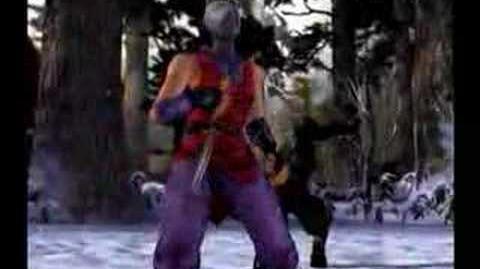 Yoshimtsu Tekken Tag ending