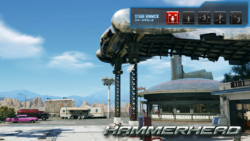 T7 stage - hammerhead