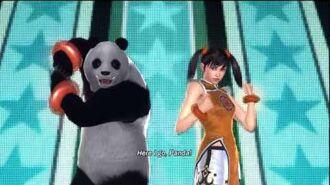 Tekken Tag Tournament 2 Ling Xiaoyu Intro Pose 3