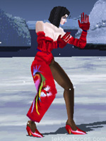 Anna Williams - Player One Costume - Tekken 1