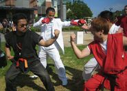 Harada and Kazuya x Ono and Ryu