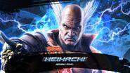 T7 Heihachi Mishima preview arcade mode