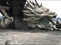 Dragon-statue