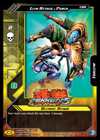 Tekken 5 Epic Battle Trading Card 5