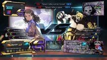 Tekken7 customization versus screen