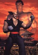 Tekken 2 Kazuya y Heihachi