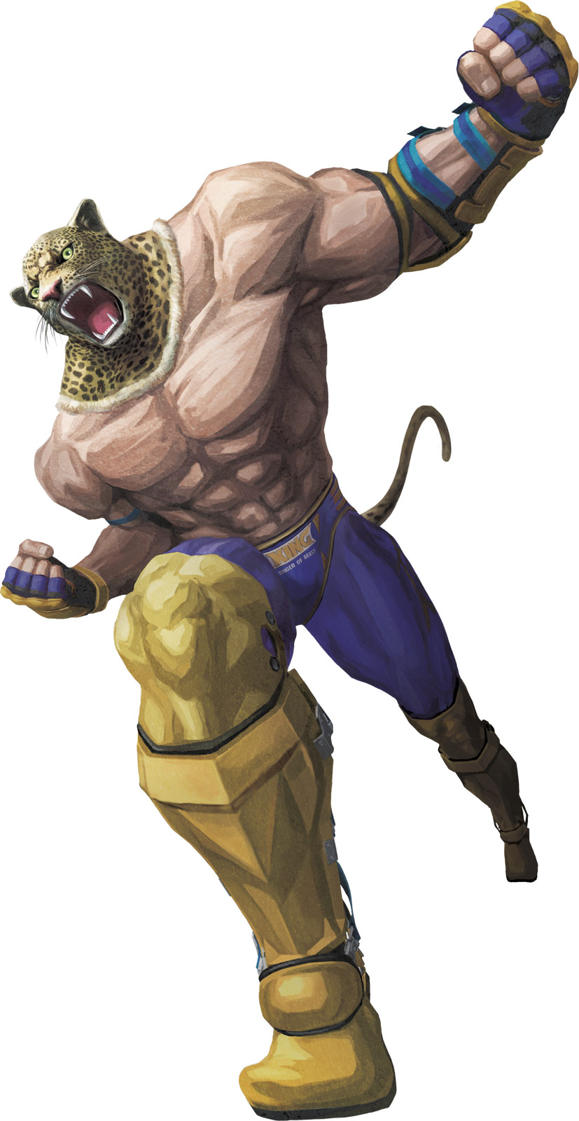 SFXT Street Fighter X Tekken Official Game Art King Character Render
