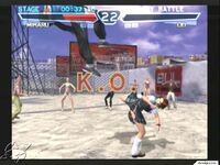 Miharu Hirano versus Lei Wulong - Tekken 4