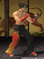 image jin kazama player one costume tekken 3 jpg tekken wiki