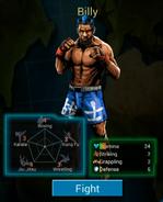 Tekken Arena Billy Stats