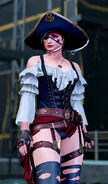 Anna Williams T7 pirate outfit