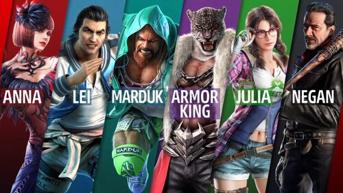 SP 2 all characters