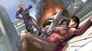 Tekken6 Anna prologue art 1