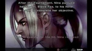 Tekken 4 Nina Prologue and Epilogue