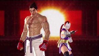 Tekken Tag Tournament 2 Kazuya Mishima's Intro Pose 2
