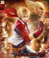 Tekken6 poster Leo Kazuya Heihachi Jin