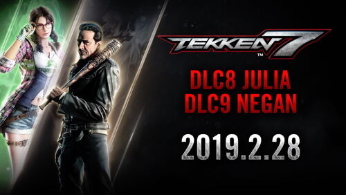 Julia and Negan news