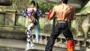 Tekken6 Zafina vs Jin