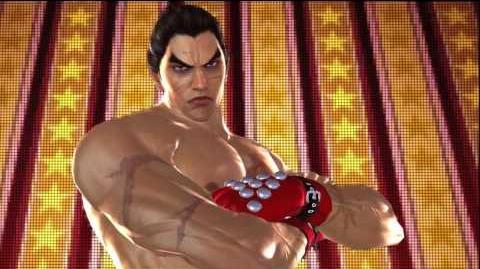 Tekken Tag Tournament 2 Kazuya Mishima's Intro Pose
