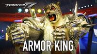 Tekken 7 - PS4 XB1 PC - Armor King (Season Pass 2 Character Trailer)