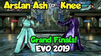 Knee vs Arslan Ash - Grand Finals Evo 2019 - Tekken 7 - Tekken World Tour
