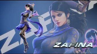 Zafina Tekken Wiki Fandom