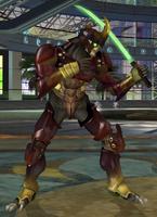 Yoshimitsu Tekken 4 stance