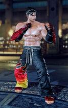 Tekken7 Jin classic outfit