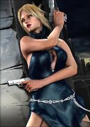 DbyD Nina Evening Dress with guns