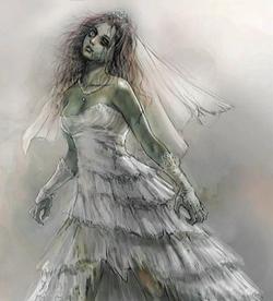 Sexy Zombie Bride