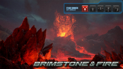 T7 stage - brimstone