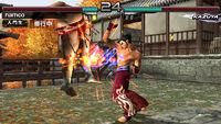 Tekken 5 dark resurrection autumn-stage